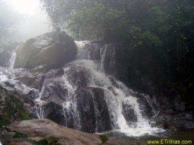 Cachoeira do Meio em Paranapiacaba - SP