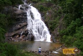 Admirando Cachoeira Alpina - Itamonte Minas Gerais