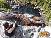 Parte de cima da Cachoeira da Aiuruoca - Parque Nacional do Itatiaia