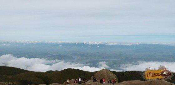 Vista lado norte Prateleiras - Parque Nacional do Itatiaia