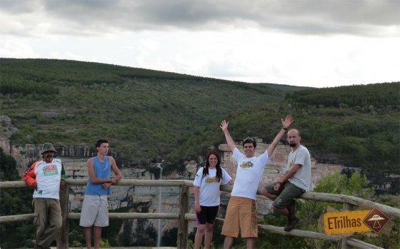 Galera cachoeira Corisco - Senges-PR - Vale do Itararé