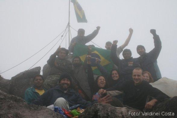 A conquista do ponto mais alto do Brasil