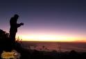Admirando Nascer do sol - Pedra da Macela - Cunha-SP
