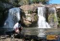 Cachoeira do Desterro primeira queda Cunha-SP