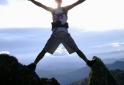 No topo da Pedra Bonita Goncalves-MG