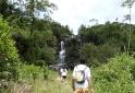 Chegando na Cachoeira Erva Doce - Senges-PR Vale do Itararé