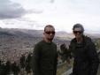 Vista superior de La Paz