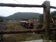 Trem abandonado em Paranapiacaba - SP