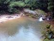 Cachoeira Praianha na trilha para a Cachoeira da Fumaça