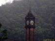 Relógio na torre da Estação de Trem em Paranapiacaba - SP