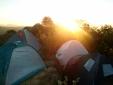 Acampamento no topo da Pedra do Baú