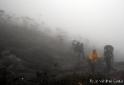 O lugar faz jus ao nome - Pico da Neblina