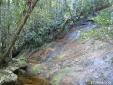 Ponto de água durante a trilha