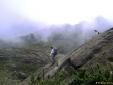 Descendo o Pico dos Marins - Piquete - SP