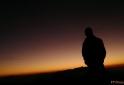 Admirando o nascer no sol - Pico dos Marins - Piquete - SP