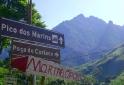Pacas indicando Pico dos Marins - Piquete - SP
