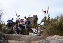 Grupo subindo Prateleiras - Parque Nacional do Itatiaia