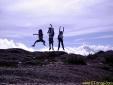 ETrilhas no topo do Pico dos Marins