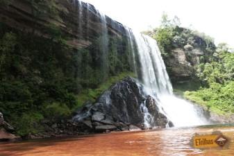 Cachoeira véu de Noiva ou Lageado em Senges-PR